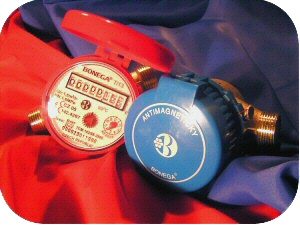 Antimagnetic water-meters BONEGA